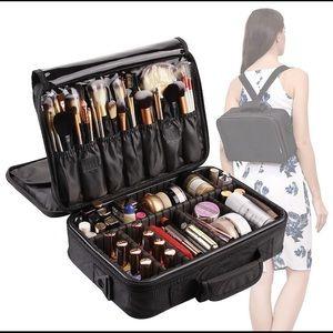 Handbags - 3 layer large makeup bag organizer 13 x 4 x 9